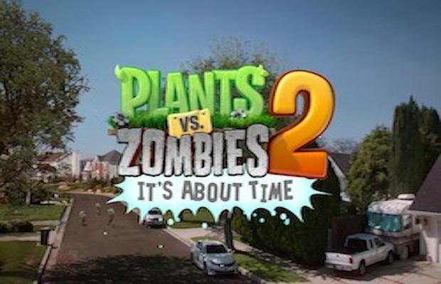 Plants vs Zombies 2: Soluces Partie 1 à 30!