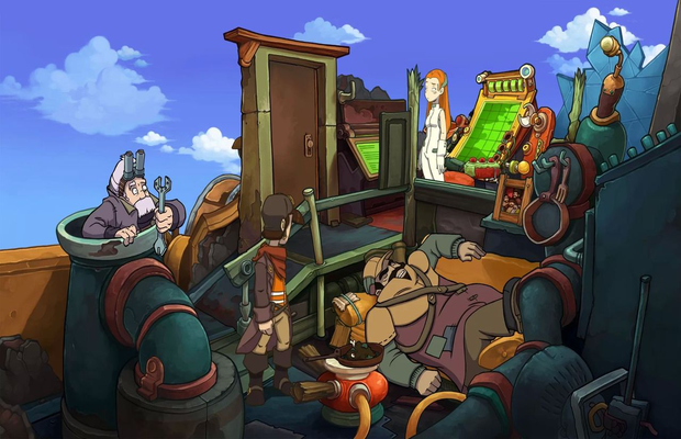 Solution pour Goodbye Deponia 1