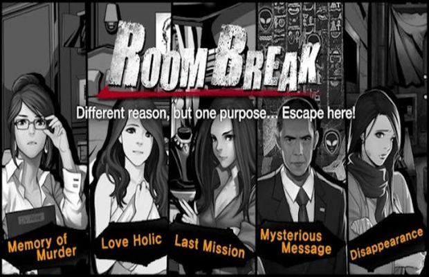 Solution pour RoomBreak Escape Now Episodes 1 et 2 une