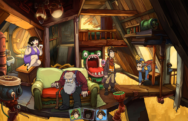 solution pour Goodbye Deponia b