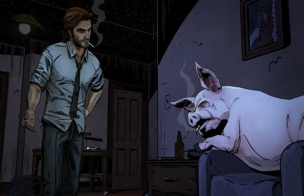 Solution pour The Wolf Among Us 1