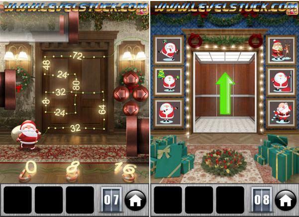 100 Doors of Revenge Christmas 2014 Level 1 à 8 a