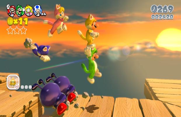 Astuces pour Super Mario 3D World 1