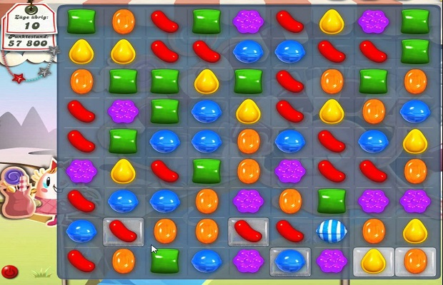 Le guide des bonbons de Candy Crush Saga B