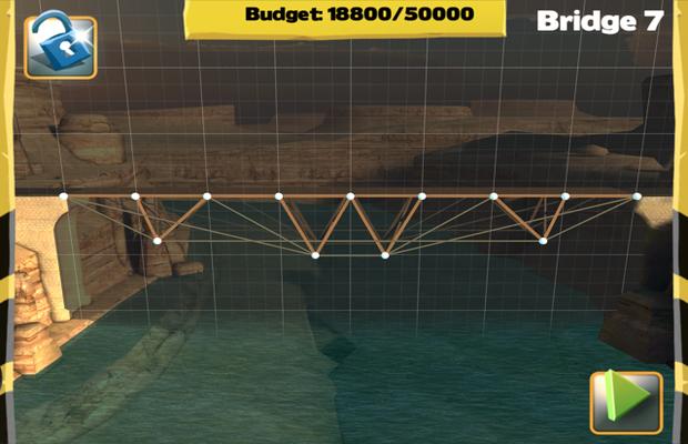 Solution pour Bridge Constructor Camatuga - Central Mainland Pont 7