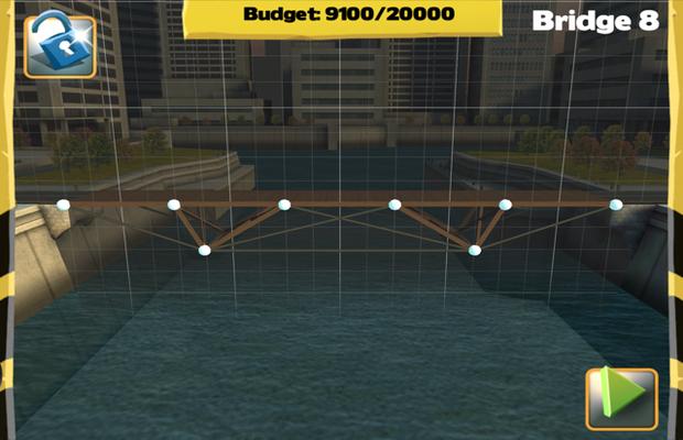 Solution pour Bridge Constructor Camatuga - Central Mainland Pont 8
