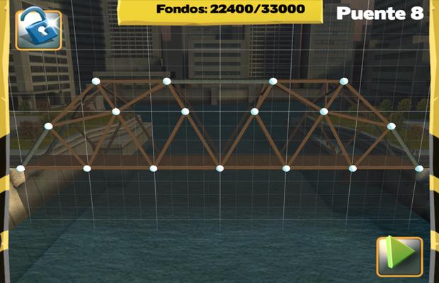 Solution pour Bridge Constructor Camatuga - Eastern Mainland Pont 8