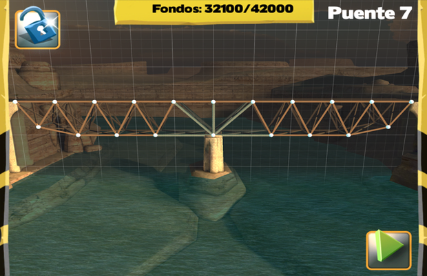 Solution pour Bridge Constructor Camatuga - Tamassee Pont 7
