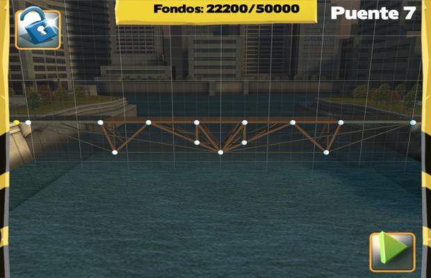 Solution pour Bridge Constructor Camatuga - The Ridge Pont 7