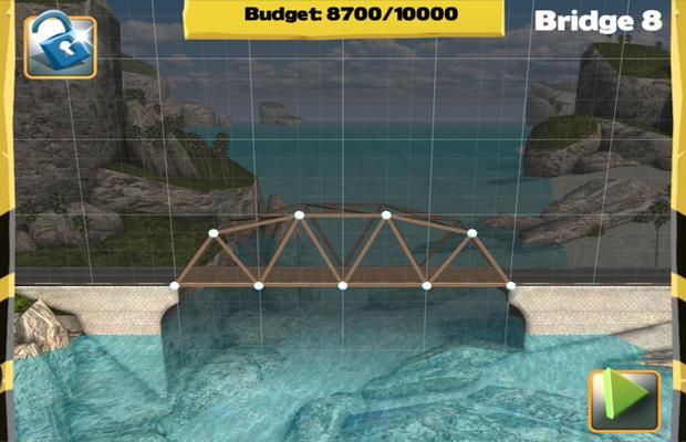 Solution pour Bridge Constructor Camatuga - Westlands Pont 8