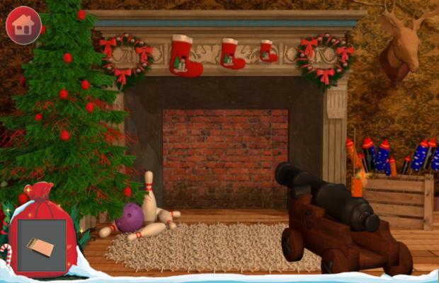 Solution pour Santa Escape 1