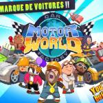Combinaisons et cartes pour MOTOR WORLD CAR FACTORY