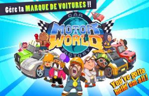 Read more about the article Combinaisons et cartes pour MOTOR WORLD CAR FACTORY