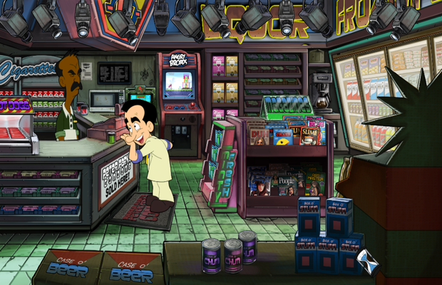 Solution pour Leisure Suit Larry Reloaded 1