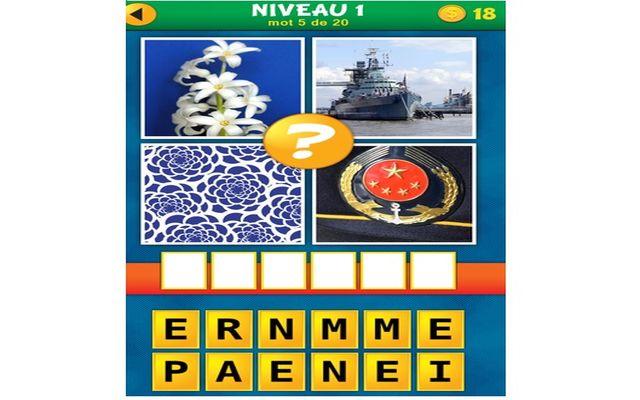 Réponses pour 4 images 1 mot plus 1