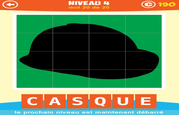 Solution 1 Image 1 Mot Ombre Puzzle Niveaux 3-4