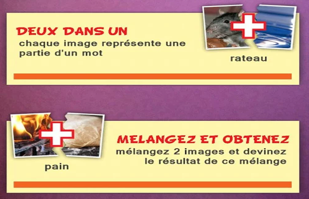 Solution 2 Images 1 Mot Mics Pics Plus Deux en Un