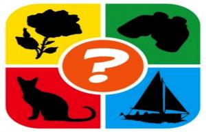 Solutions de 1 Pic 1 mot: Silhouettes Quiz (Niveau 1 à 3)