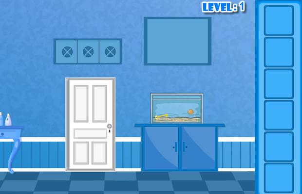 Solution pour Bluish Escape Niveaux 1-30