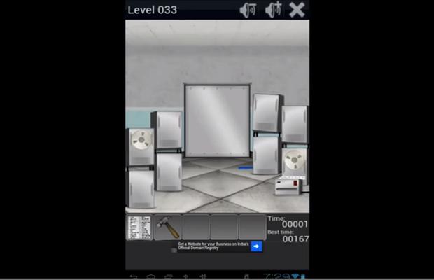 Solution pour 100 Doors Remix Niveaux 33 à 42