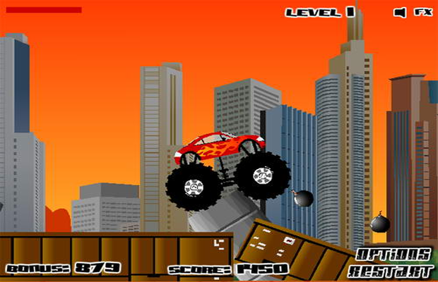 Solution de Monster Truck Destroyer 1