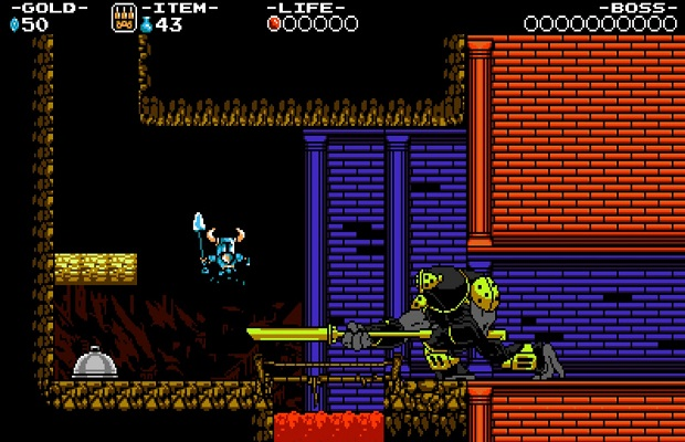 Le walkthrough de Shovel Knight B