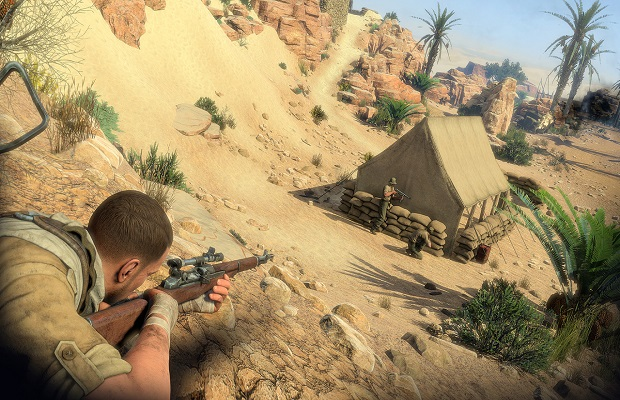 le walkthrough de Sniper Elite 3 1 C
