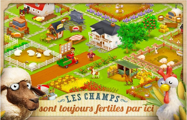 Guide sur Hay Day B