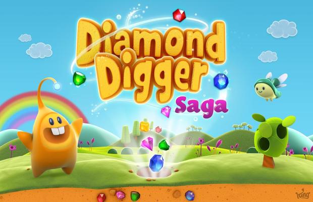 Solution complète pour Diamond Digger Saga