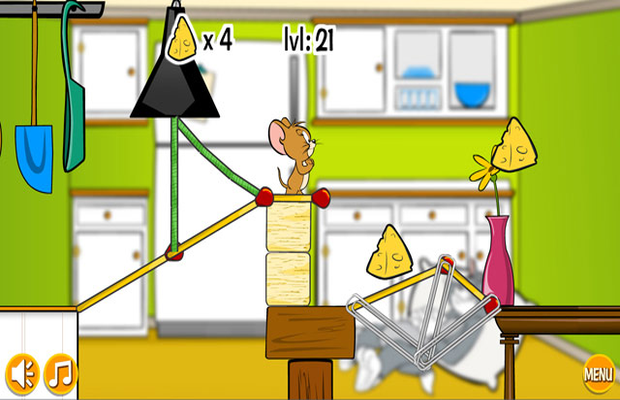 Solution pour Tom and Jerry in Rig A Bridge