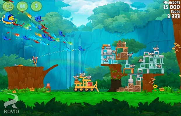 Solution pour Angry Birds Rio B