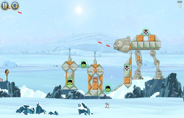 Solution pour Angry Birds Star Wars B
