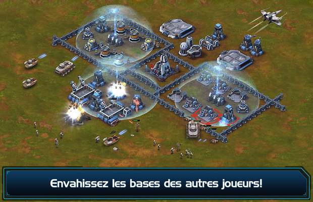 missions de Star Wars Commander