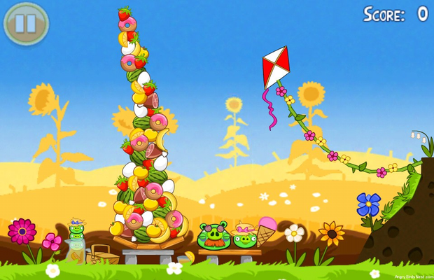 solution complète pour Angry Birds Seasons