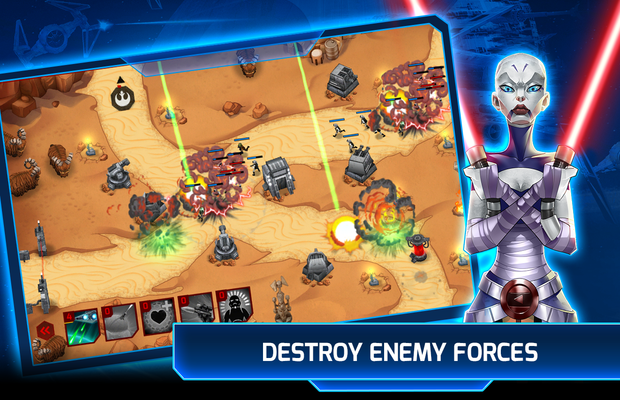 Solution de Stars Wars Galactic Defense