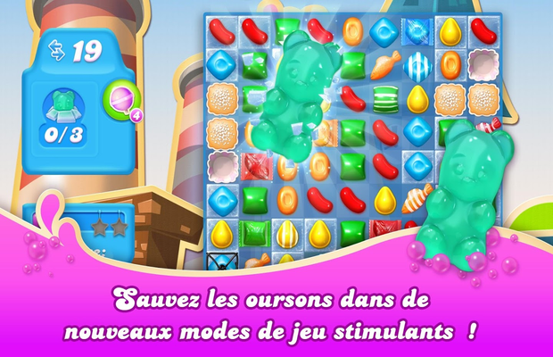 Solution pour Candy Crush Soda Saga