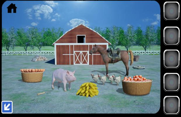 solution  pour Can You Escape The Farm