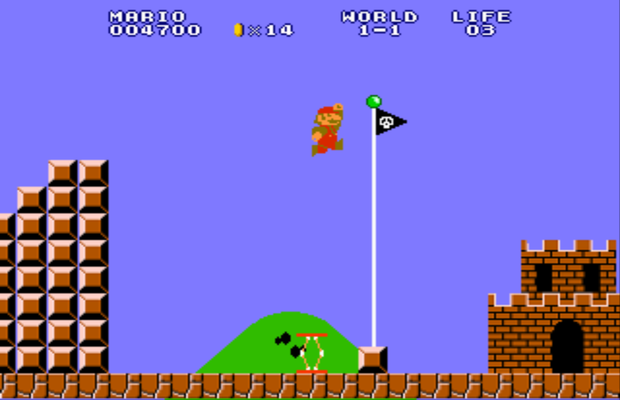 Walkthrough de Super Mario Bros