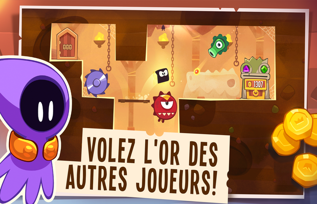 solution pour King Of Thieves