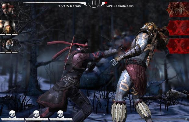 Battre les boss de Mortal Kombat X sur mobile
