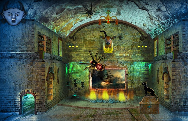 Solution Haunted House Escape Adventure