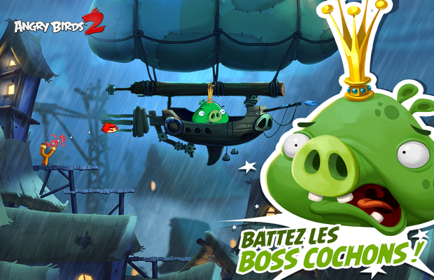 Solution pour Angry Birds 2
