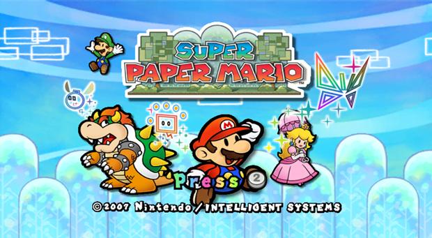 Solutions de Super Paper Mario