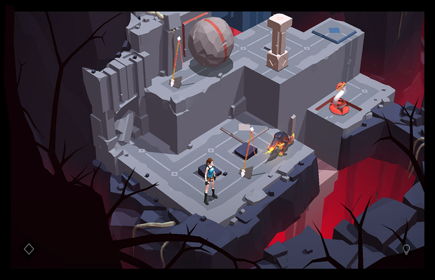 Solution Lara Croft Go Shard of Life b