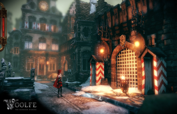 Solution pour Woolfe The Red Hood Diaries b