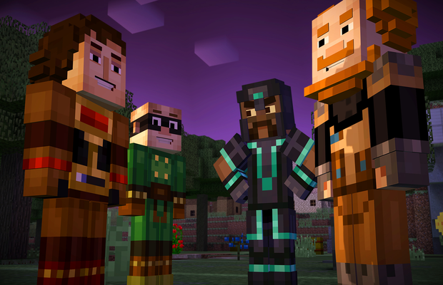 Solutions de Minecraft Story Mode épisode 3 b