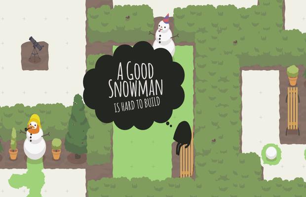 Solution pour A good snowman b