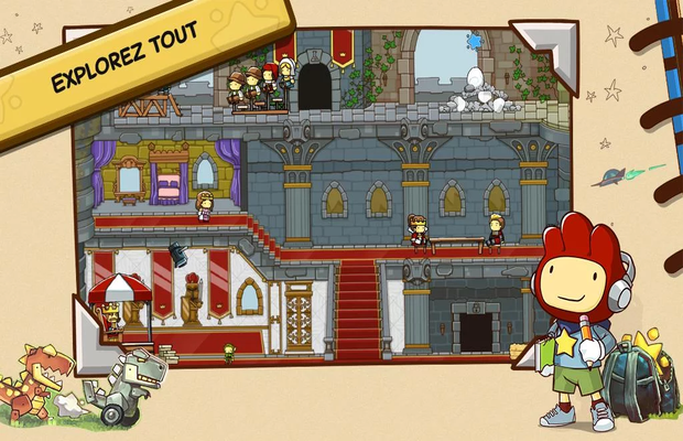 Solution pour Scribblenauts Unlimited b