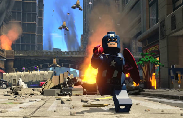 Solution pour Lego Marvel's Avengers b