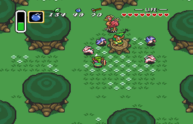 Solution The Legend of Zelda A Link to the Past b